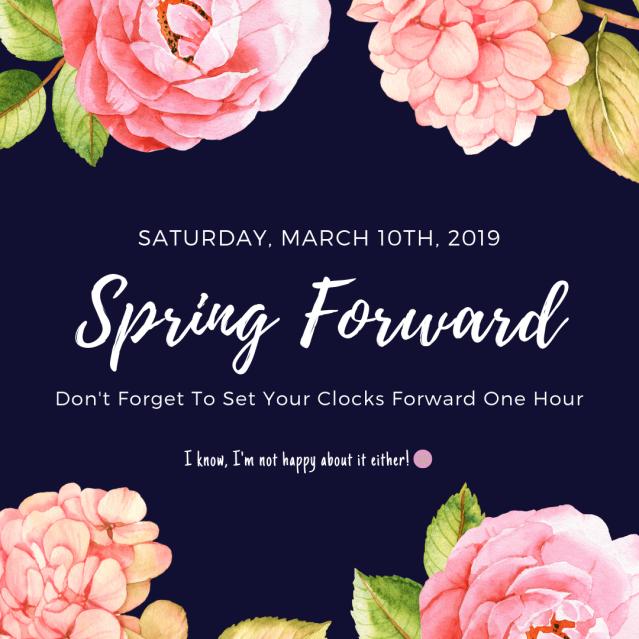 2019 Spring Forward